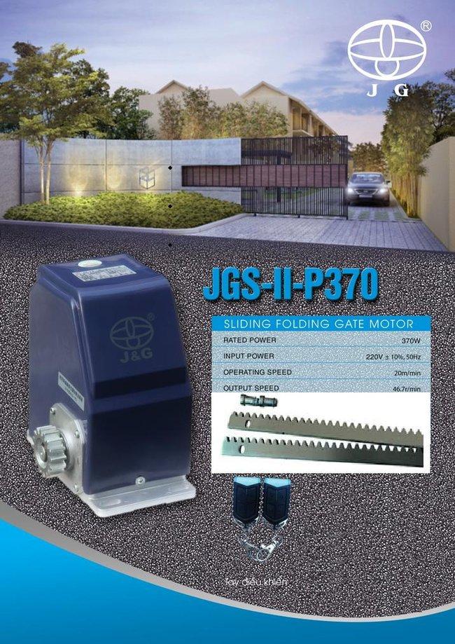 Mô tơ cổng tự động JG – P370