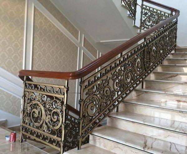 Cầu thang nhôm đúc N24