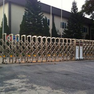 Cổng xếp tự động Phú Thành F-818